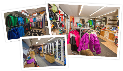 Our ski rental shops in Zell am See and Kaprun